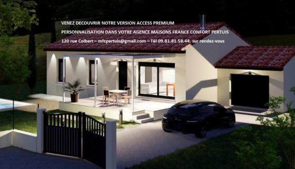 Maison+Terrain à vendre .(80 m²)(VILLELAURE) avec (MAISONS FRANCE CONFORT)