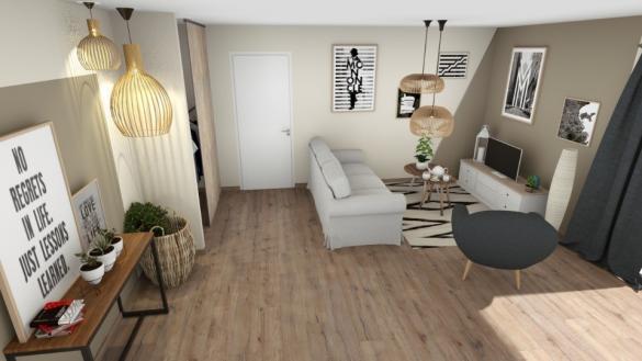 Maison+Terrain à vendre .(80 m²)(ROCBARON) avec (MAISONS FRANCE CONFORT)