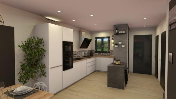 Maison+Terrain à vendre .(70 m²)(GAREOULT) avec (MAISONS FRANCE CONFORT)
