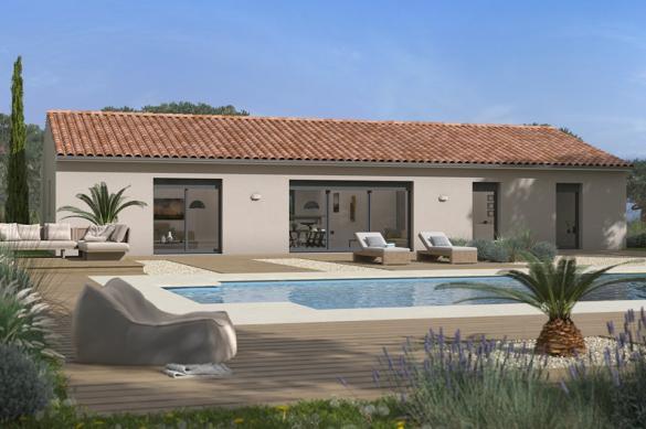 Maison+Terrain à vendre .(113 m²)(COTIGNAC) avec (MAISONS FRANCE CONFORT)
