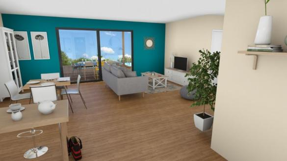 Maison+Terrain à vendre .(86 m²)(PUGET VILLE) avec (MAISONS FRANCE CONFORT)