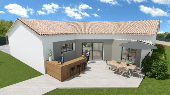 Maison+Terrain à vendre .(113 m²)(GAREOULT) avec (MAISONS FRANCE CONFORT)