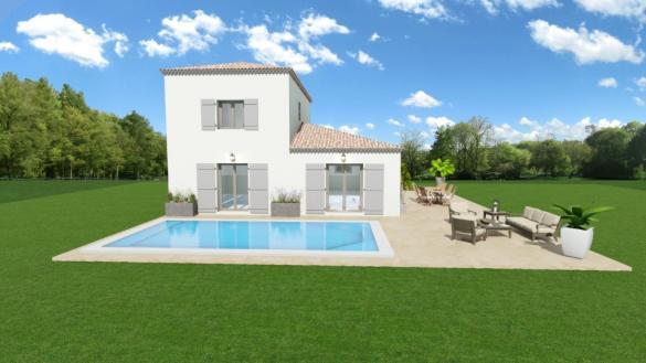 Maison+Terrain à vendre .(100 m²)(PIGNANS) avec (MAISONS FRANCE CONFORT)