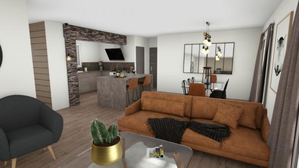 Maison+Terrain à vendre .(135 m²)(SAINTE ANASTASIE SUR ISSOLE) avec (MAISONS FRANCE CONFORT)