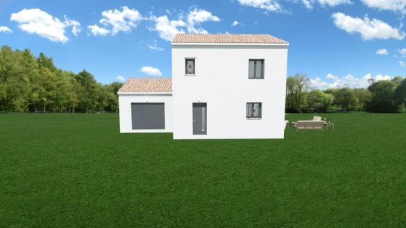 Maison+Terrain à vendre .(85 m²)(ROCBARON) avec (MAISONS FRANCE CONFORT)
