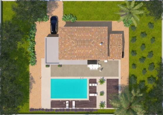 Maison+Terrain à vendre .(95 m²)(NIMES) avec (MAISONS BALENCY)