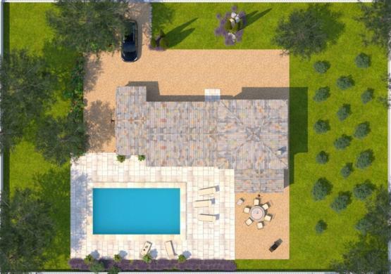 Maison+Terrain à vendre .(90 m²)(GAUJAC) avec (MAISONS BALENCY)