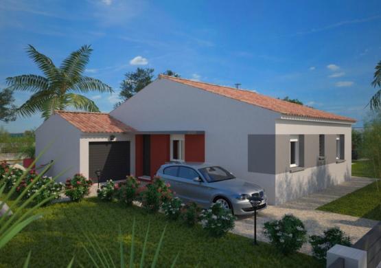 Maison+Terrain à vendre .(83 m²)(SAINT PRIVAT DES VIEUX) avec (MAISONS BALENCY)