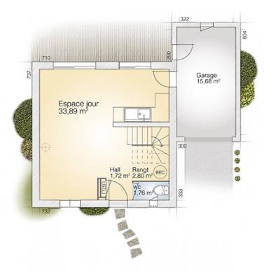 Maison+Terrain à vendre .(81 m²)(CALVISSON) avec (MAISONS BALENCY)