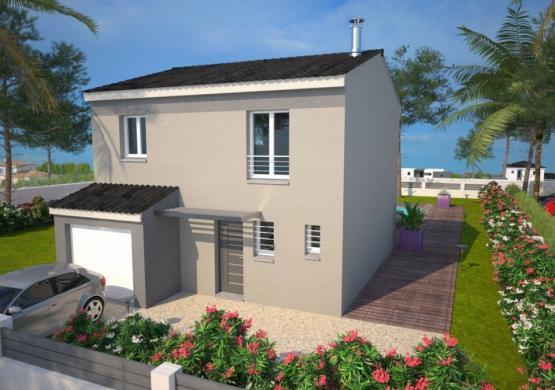 Maison+Terrain à vendre .(95 m²)(BELLEGARDE) avec (MAISONS BALENCY)