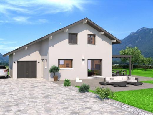 Maison+Terrain à vendre .(108 m²)(VALLIERES) avec (DEMEURES CALADOISES AGENCE D ANNECY)