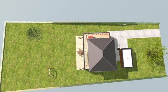 Maison+Terrain à vendre .(123 m²)(SAINT BALDOPH) avec (Maisons BOOA)