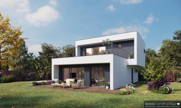 Maison+Terrain à vendre .(130 m²)(RANDENS) avec (Maisons BOOA)