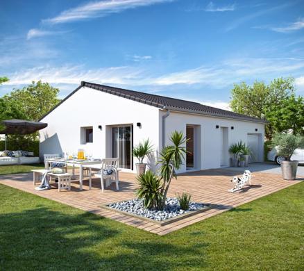 Maison+Terrain à vendre .(90 m²)(CISSAC MEDOC) avec (ALPHA CONSTRUCTIONS - LESPARRE)