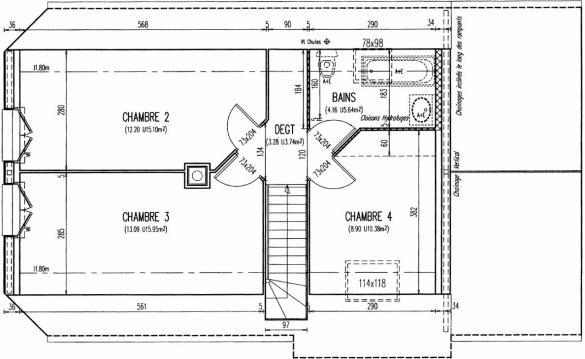 Maison+Terrain à vendre .(104 m²)(SONZAY) avec (Maison Familiale Tours)