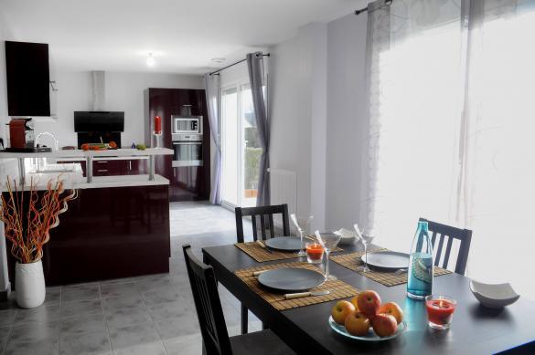 Maison+Terrain à vendre .(125 m²)(SAINT ANTOINE DU ROCHER) avec (Maison Familiale Tours)