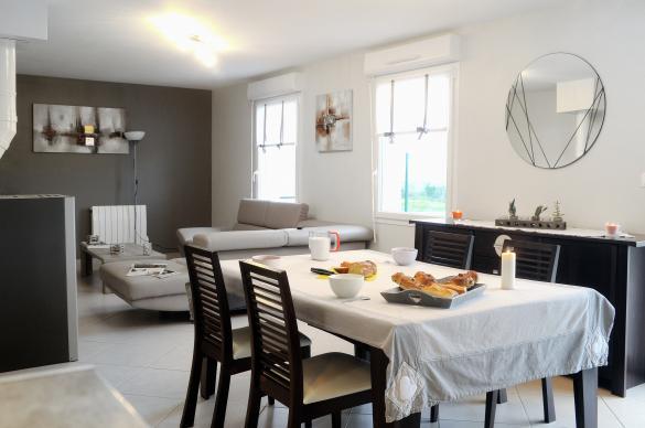 Maison+Terrain à vendre .(120 m²)(LUSSAULT SUR LOIRE) avec (Maison Familiale Tours)