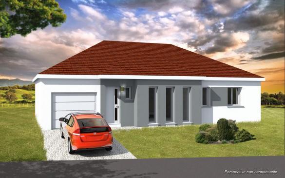 Maison+Terrain à vendre .(100 m²)(FAULQUEMONT) avec (KEVAL CONSTRUCTION)