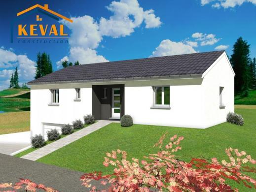 Maison+Terrain à vendre .(80 m²)(HOMMARTING) avec (KEVAL CONSTRUCTION)