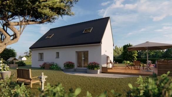 Maison+Terrain à vendre .(105 m²)(BRETTEVILLE DU GRAND CAUX) avec (MAISONS EXTRACO- Agence du HAVRE)
