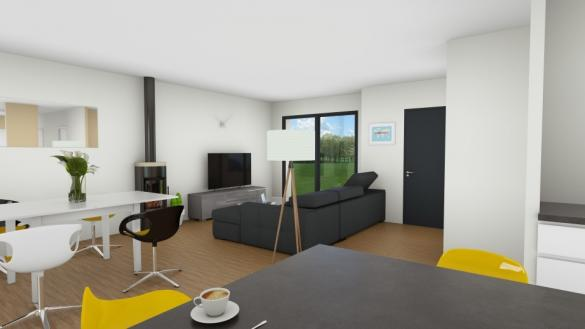 Maison+Terrain à vendre .(98 m²)(BOURG ACHARD) avec (EXTRACO CREATION)