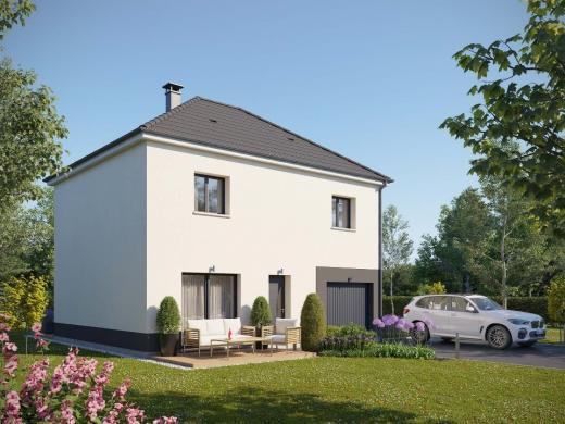 Maison+Terrain à vendre .(100 m²)(SOTTEVILLE LES ROUEN) avec (EXTRACO CREATION)