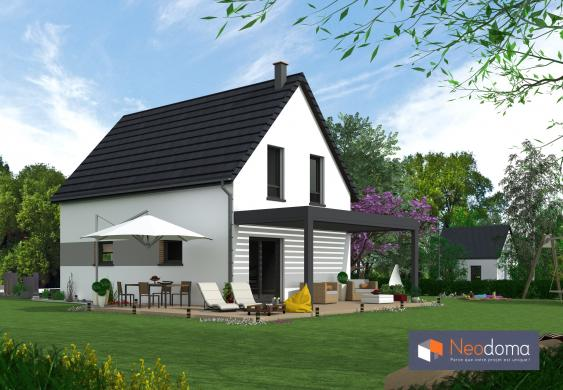 Maison+Terrain à vendre .(90 m²)(ERSTEIN) avec (NEODOMA)