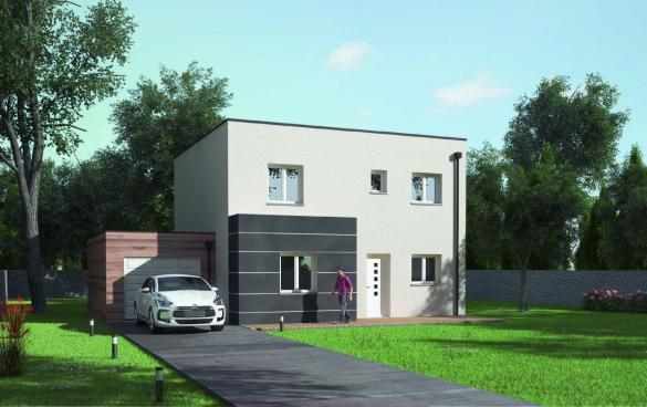 Maison+Terrain à vendre .(96 m²)(LA MEAUFFE) avec (MAISONS AXCESS)