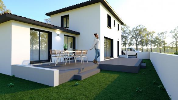 Maison+Terrain à vendre .(100 m²)(CLERMONT L'HERAULT) avec (CONSTRUIRE EN LANGUEDOC)