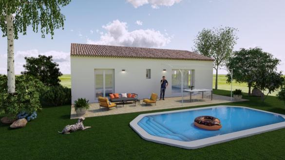 Maison à vendre .(80 m²)(SALERNES) avec (ESQUISS 13)