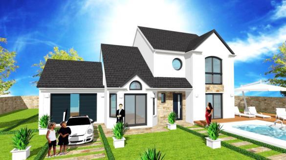 Maison+Terrain à vendre .(100 m²)(LA FERTE ALAIS) avec (Maisons RéaBelle)