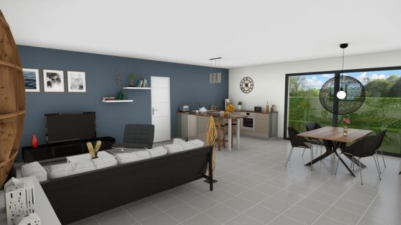 Maison+Terrain à vendre .(100 m²)(LENT) avec (MAISONS FLORIOT)