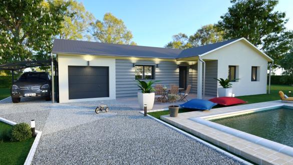 Maison+Terrain à vendre .(100 m²)(VANDEINS) avec (MAISONS FLORIOT)
