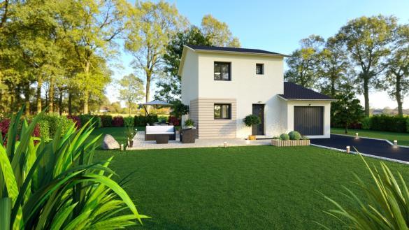 Maison+Terrain à vendre .(101 m²)(MEILLONNAS) avec (MAISONS FLORIOT)