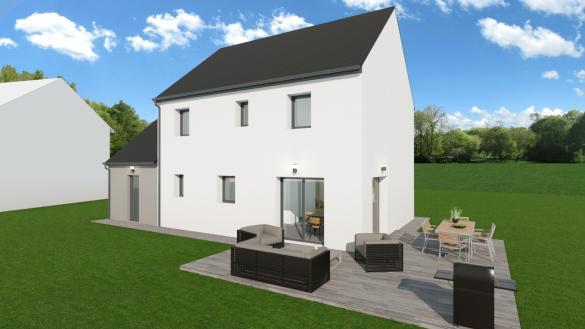 Maison+Terrain à vendre .(114 m²)(MOULT) avec (TRADIBAT NORMANDIE)