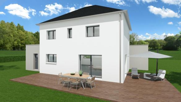 Maison+Terrain à vendre .(142 m²)(TOUQUES) avec (TRADIBAT NORMANDIE)