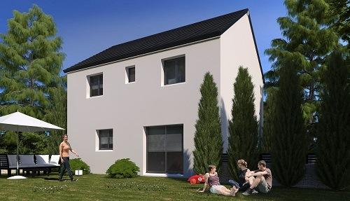 Maison+Terrain à vendre .(86 m²)(NANTEUIL LE HAUDOUIN) avec (Résidences Picardes)