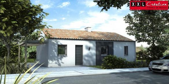 Maison à vendre .(60 m²)(PIA) avec (XXL CREATION)