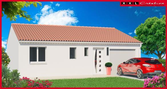 Maison à vendre .(63 m²)(PIA) avec (XXL CREATION)