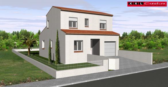 Maison à vendre .(75 m²)(PIA) avec (XXL CREATION)
