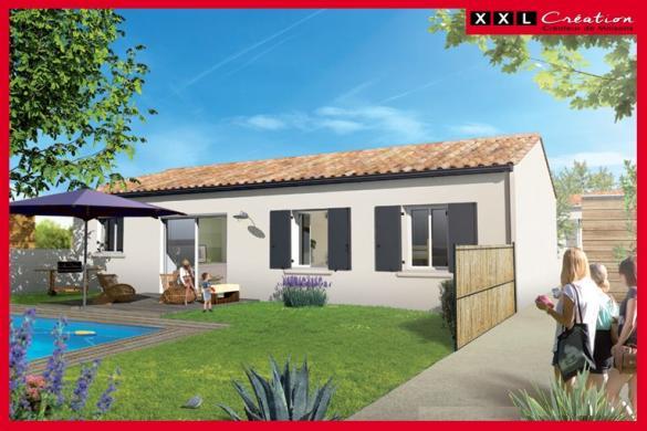 Maison à vendre .(64 m²)(PIA) avec (XXL CREATION)