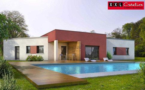 Maison à vendre .(120 m²)(VILLEMOLAQUE) avec (XXL CREATION)