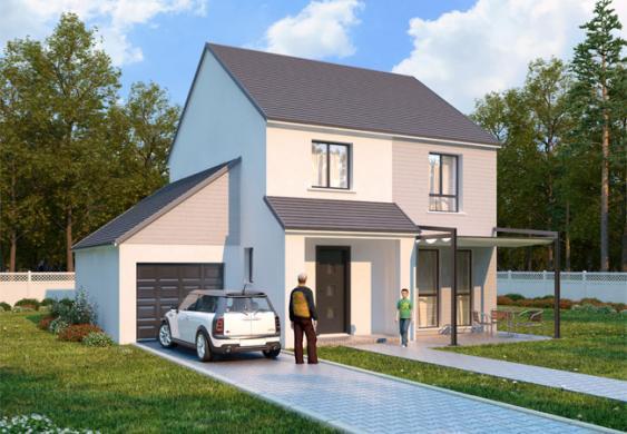 Maison+Terrain à vendre .(98 m²)(ISSOU) avec (LES ARTISANS REUNIS)