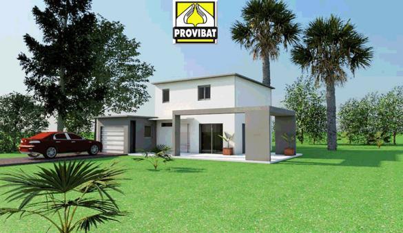 Maison+Terrain à vendre .(100 m²)(MONTARNAUD) avec (PROVIBAT)