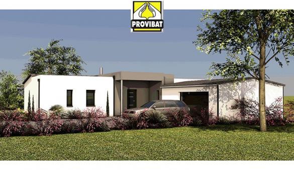 Maison+Terrain à vendre .(100 m²)(GIGNAC) avec (PROVIBAT)