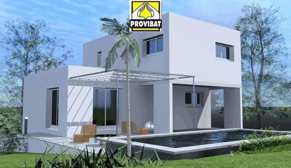 Maison+Terrain à vendre .(100 m²)(PIGNAN) avec (PROVIBAT)
