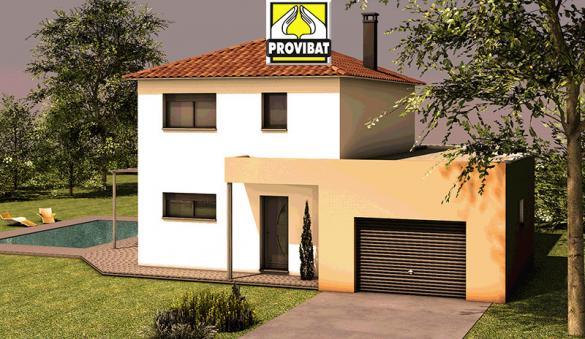 Maison+Terrain à vendre .(90 m²)(LUNEL) avec (PROVIBAT)