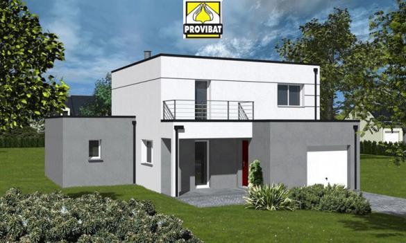 Maison+Terrain à vendre .(100 m²)(MONTPEZAT) avec (PROVIBAT)