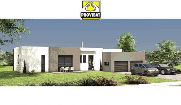 Maison+Terrain à vendre .(80 m²)(RESTINCLIERES) avec (PROVIBAT)