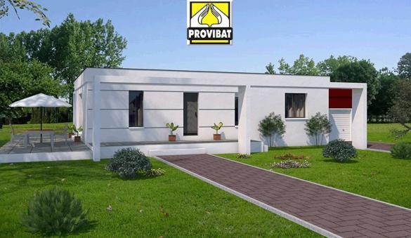 Maison+Terrain à vendre .(90 m²)(SERVIAN) avec (PROVIBAT)